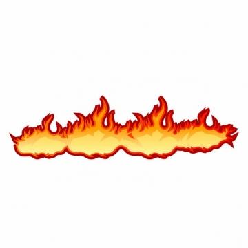 漫画风格燃烧的火焰png图片素材935069