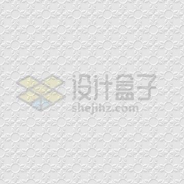 3D花朵图案无缝花纹壁纸背景图png图片免抠矢量素材