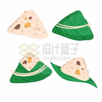 端午节4款可爱的卡通粽子169759png图片素材