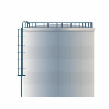 原油储油罐石油工业png图片免抠矢量素材