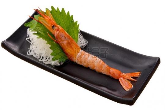 赤海虾刺身日式料理509885png图片素材