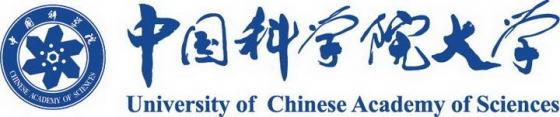 横版中国科学院大学校徽LOGO图案图片免抠素材