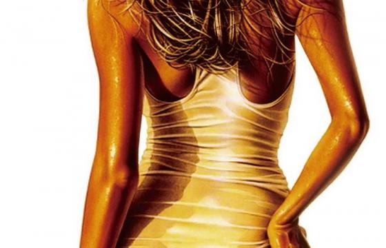 古铜色性感女郎背影美女图片png免抠素材