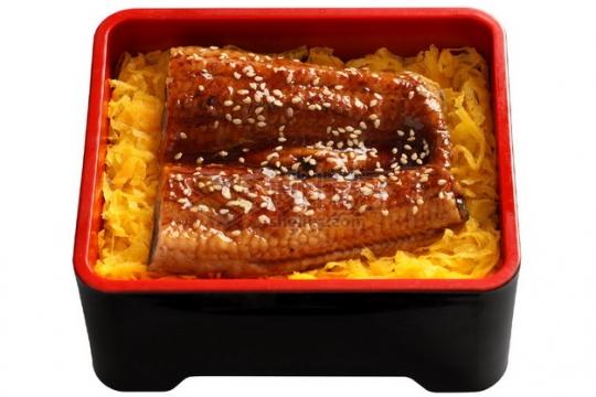 酱烧鳗鱼饭日式料理722924png图片素材