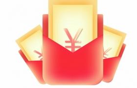 空白的电商店铺微信红包封面238868AI矢量图片免抠素材