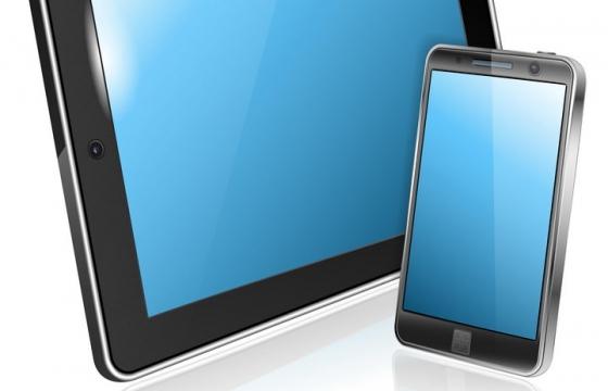 平板电脑和智能手机图片免抠矢量图