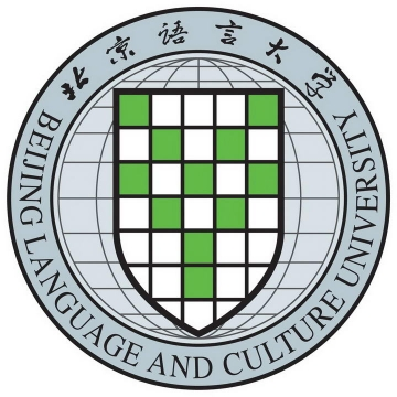 北京语言大学校徽LOGO图案图片免抠素材
