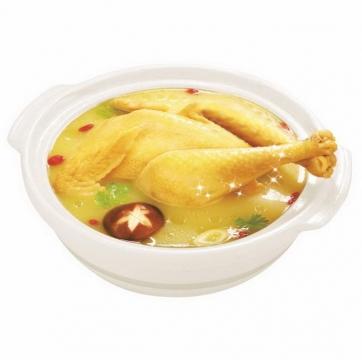 一碗好看好吃的香菇炖鸡汤美味美食图片免抠素材
