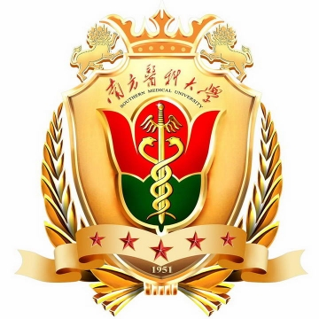 南方医科大学校徽LOGO图案图片免抠素材