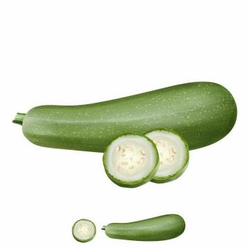 切开的黄瓜美味水果横,切面png图片免抠矢量素材