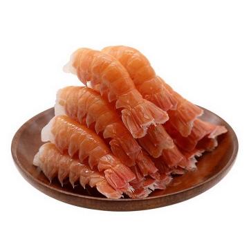 剥好的河虾对虾虾尾河鲜美食图片免抠素材