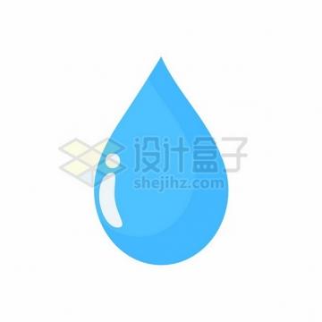 蓝色的水滴513534png图片素材