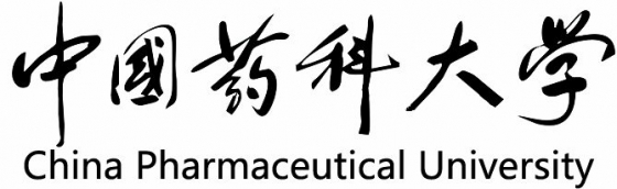 中国药科大学纯文字校徽LOGO图案图片免抠素材