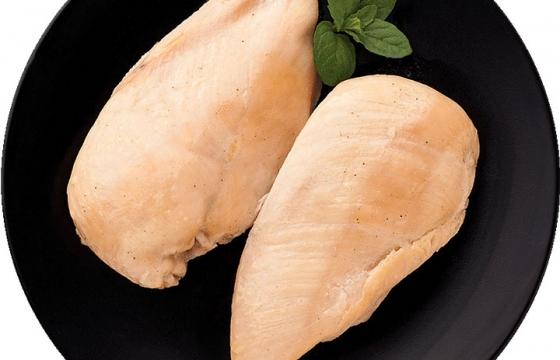 两块水煮鸡胸肉减肥美食图片免抠素材