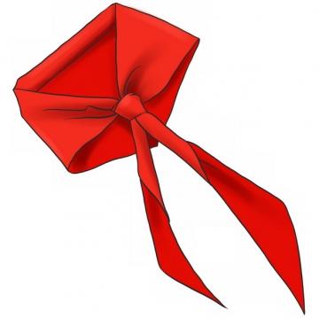 鲜红的红领巾904634png图片素材