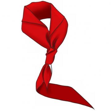 鲜红的红领巾474389png图片素材