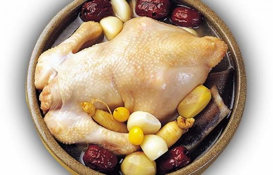 红枣人参炖鸡汤美味美食图片免抠素材