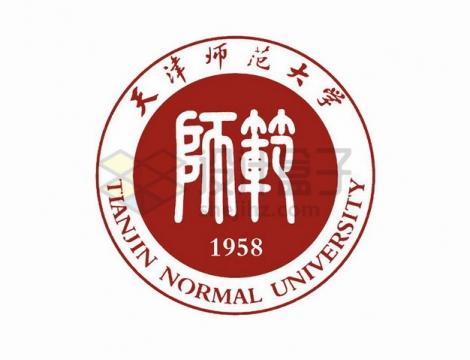 天津师范大学校徽logo标志png图片素材