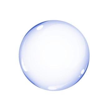 紫色半透明气泡图片免抠素材