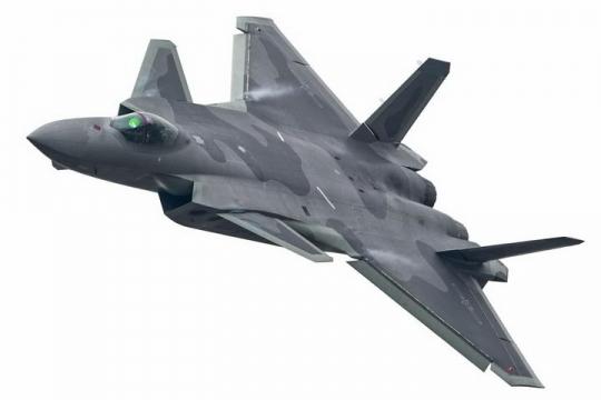 超酷涂装的中国空军歼20战斗机png免抠透明图片