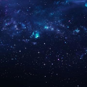 夜晚深蓝色的星空天空980724png图片素材