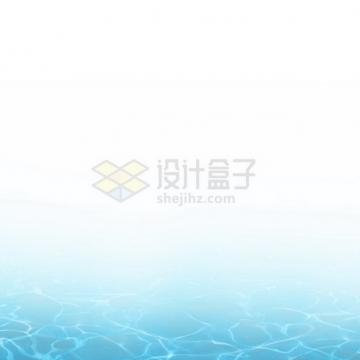 夏天的热带蓝色水面效果9876265png图片素材