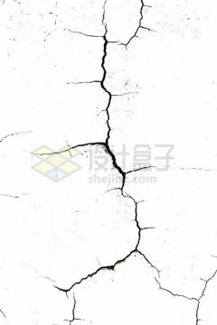 黑色墙壁干裂龟裂的土地黑色裂纹裂缝图案543408png图片素材