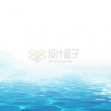 夏天的热带蓝色水面效果3463522png图片素材