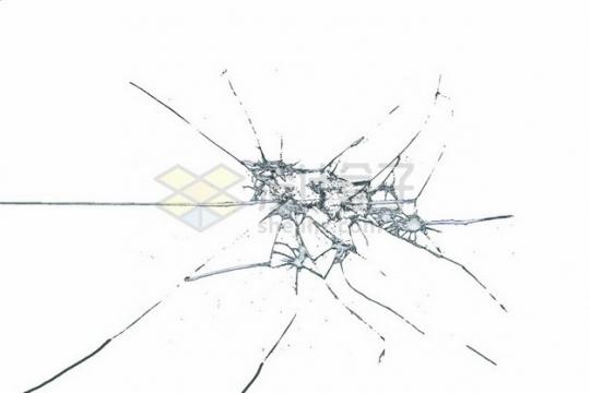 玻璃破碎裂纹裂缝碎片2543274png图片素材