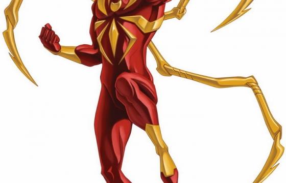 漫威漫画超级英雄钢铁蜘蛛侠图片免抠素材