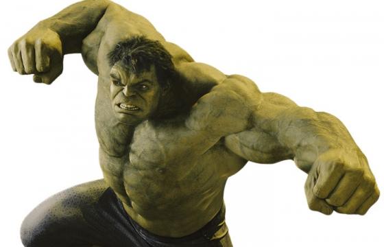愤怒的漫威电影超级英雄绿巨人浩克图片免抠素材