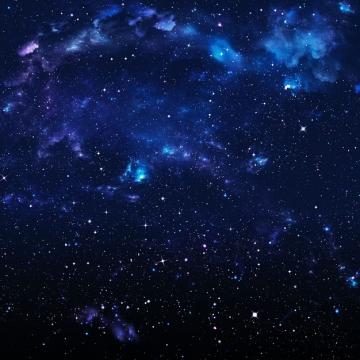 深蓝色夜晚的夜空星空天空951676png图片素材