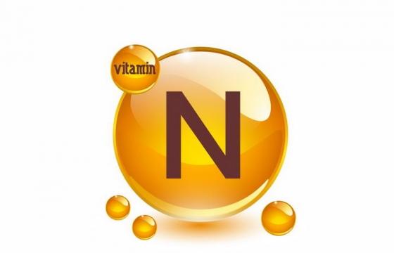 维生素N油滴维他命N软胶囊保健用品营养元素png图片免抠矢量素材