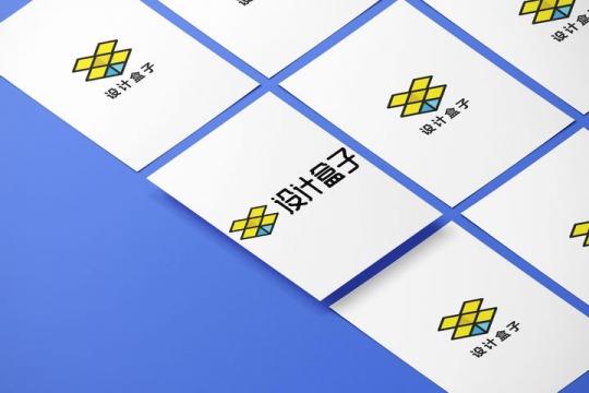 整齐排列其中一张悬空的A4纸白纸展示样机图片设计模板素材