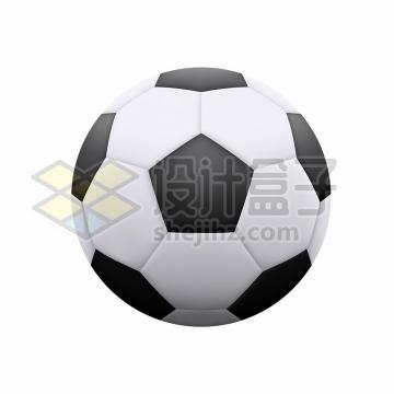 逼真的足球体育球类png图片免抠矢量素材