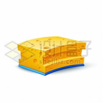 逼真的奶酪芝士195475png图片素材