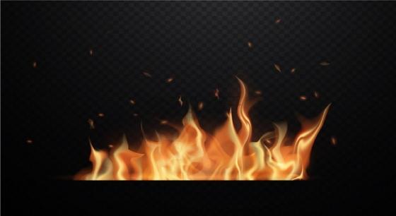 燃烧的火焰火红的火苗png图片免抠eps矢量素材