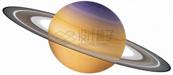 高清土星和土星光环宇宙星球png图片素材