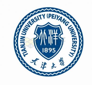 天津大学 logo校徽标志png图片素材
