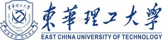 带校名文字华东理工大学 logo校徽标志png图片素材