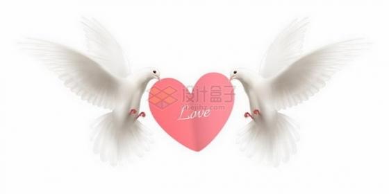 橄榄枝和白鸽的图片_四种和平鸽衔着橄榄枝剪影图片免抠素材 - 设计盒子