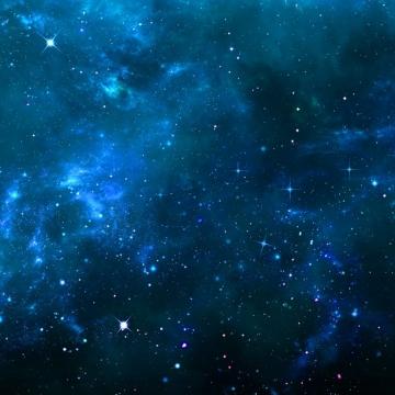 蓝色夜晚的夜空星空天空842308png图片素材