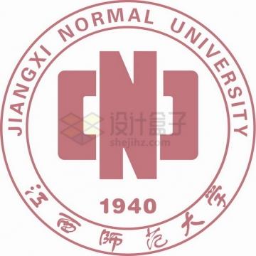 江西师范大学 logo校徽标志png图片素材