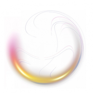 抽象彩色气泡装饰786225png图片素材