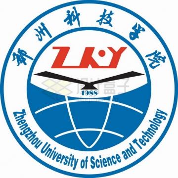 郑州科技学院 logo校徽标志png图片素材