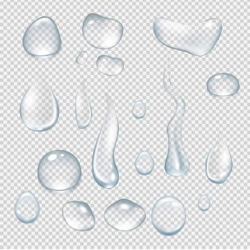 各种水滴水迹效果图片免抠素材合集
