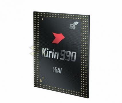 华为麒麟990 5G技术移动处理器png图片素材