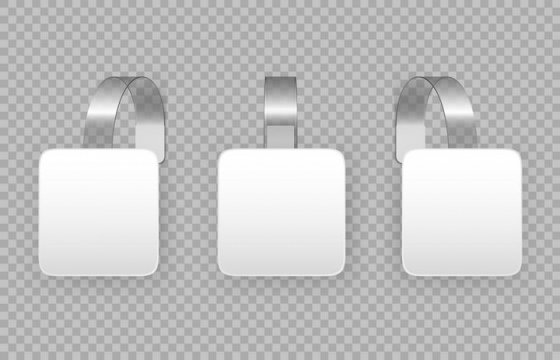 空白的戒指风格商品信息框图片免抠矢量素材