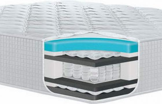 乳胶床垫床上用品一角解剖图png图片透明背景免抠素材