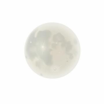 灰蒙蒙的月亮月球png图片免抠矢量素材
